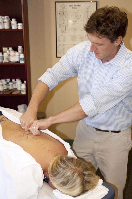 Salt Lake City chiropractor, spine specialist, light force chiropractic adjustments.